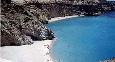 Greek islands travel Milos