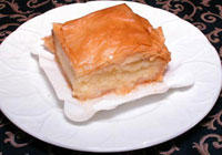 Greek galatoboureko recipe