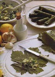 Greek grape leaves recipe