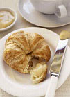 Greek walnut and honey croissants recipe