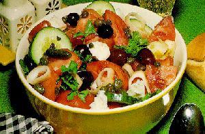 Greek horiatiki salad recipe