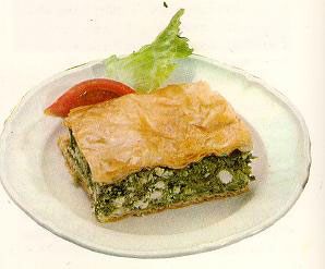 Greek spanikopita recipe