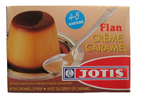Greek flan creme caramel