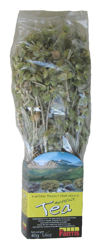 Greek Mountain Tea - Fantis - 40 gr Bunch : GreekMarket com