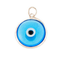 Greek evil eye charms and pendants greekinternetmarket glass evil eye pendants aloadofball Choice Image
