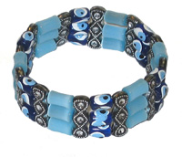 Greek Beaded Evil Eye Bracelets